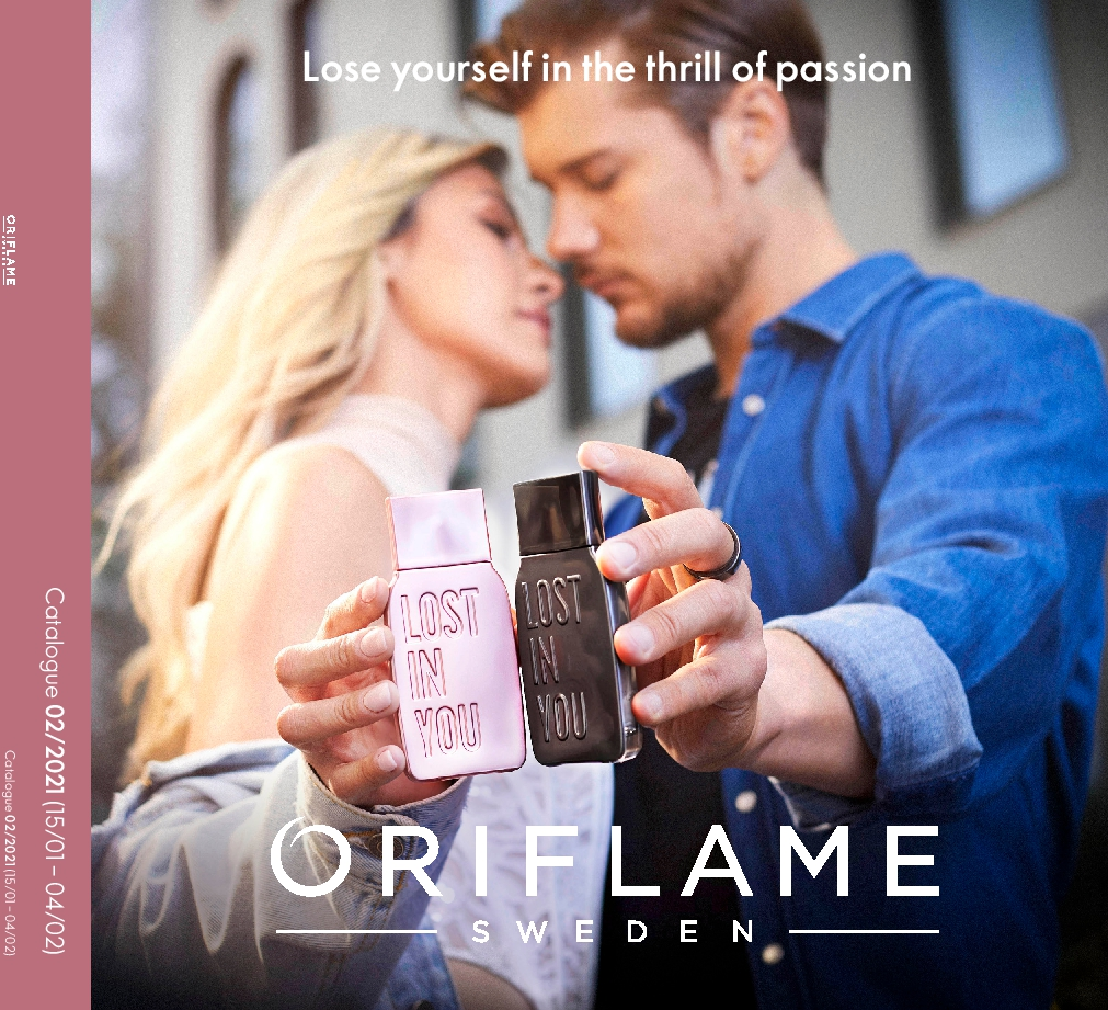 Oriflame Catalogue 15th January – 4th February 2021 Oriflame online