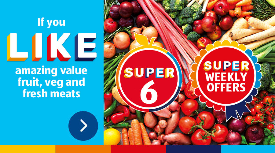 ALDI Super 6 & ALDI Weekly Offers From 13th January 2021