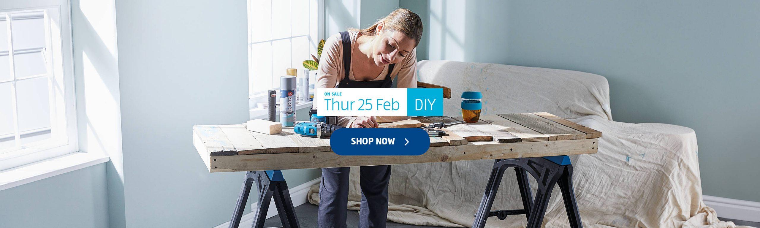 ALDI DIY 25th February 2021 ALDI Thursday Offers