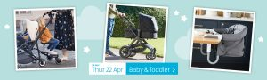 ALDI Baby & Toddler from 22nd Apr 2021 ALDI Thursday Offers