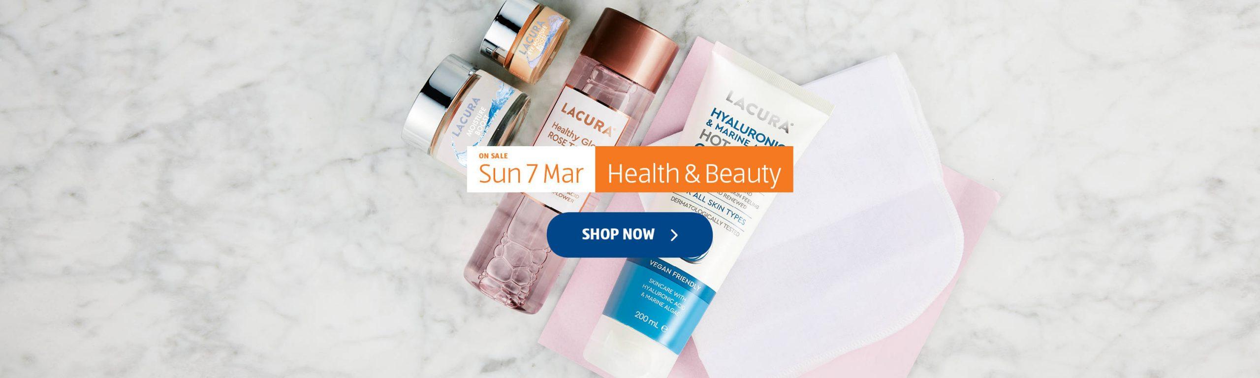 ALDI Health & Beauty 7th March 2021 ALDI Sunday Offers