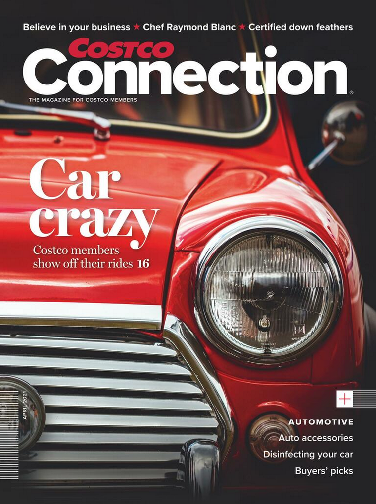 Costco Magazine April 2021 The Costco Connection UK