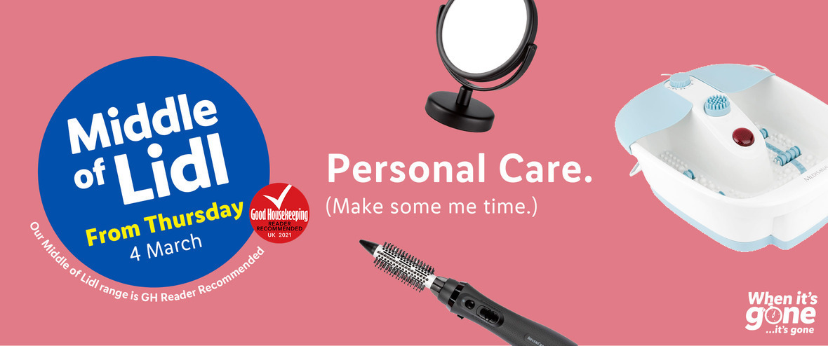 LiDL Personal Care From 4th March 2021 LIDL Offers this Thursday