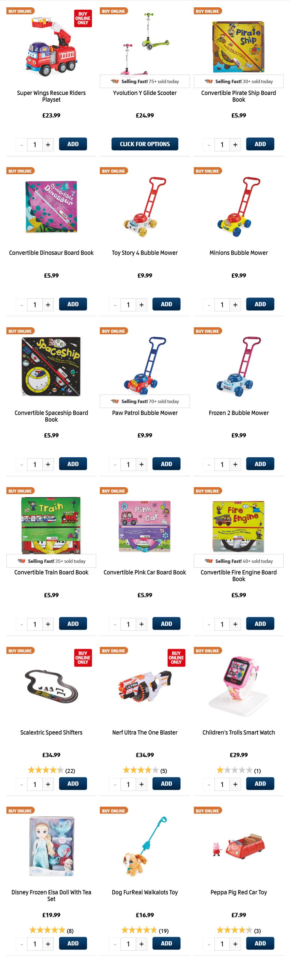 ALDI Toys 21st March 2021 ALDI Sunday Offers