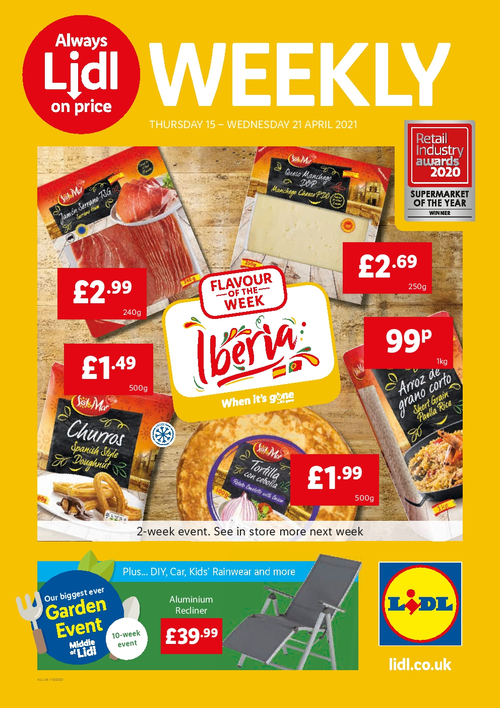 LIDL Offers This Week 15th Apr to 21st Apr 2021 LIDL Special Buys Preview