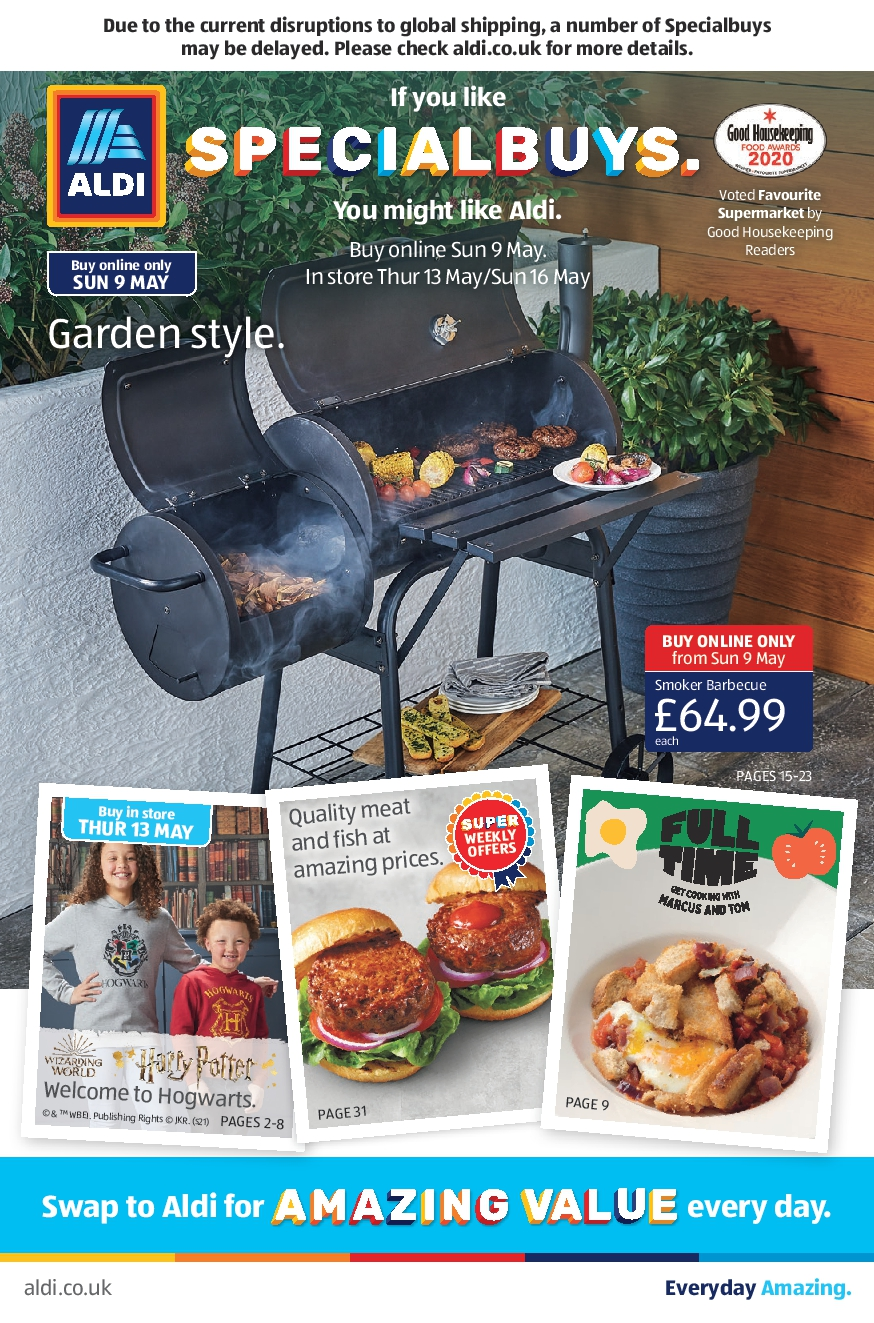 ALDI Leaflet 9th May - 16th May 2021 ALDI SpecialBuys this Week