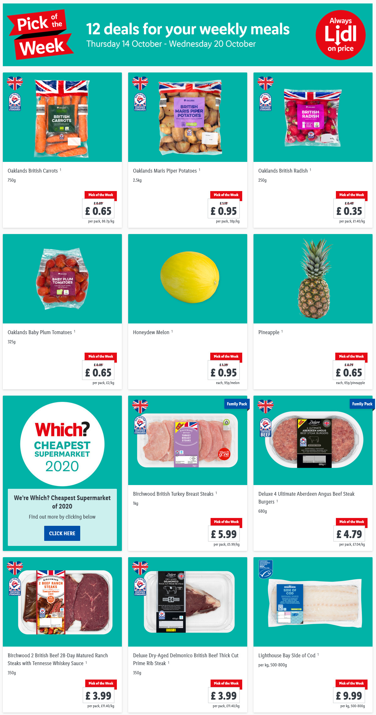 LiDL Pick Of The Week This Week 7th October - 13th October 2021