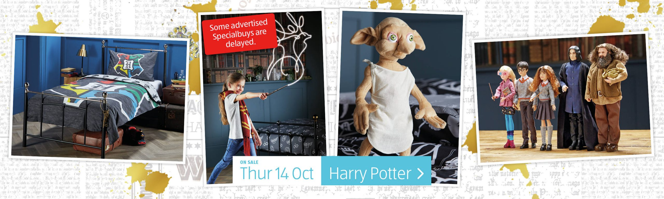 ALDI Harry Potter from 14th October 2021 ALDI Thursday Offers